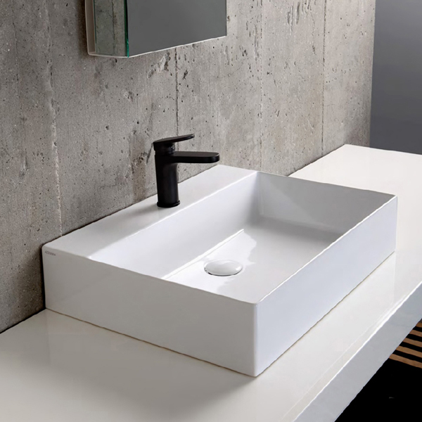 Bathroom ceramic wash basin WB-01