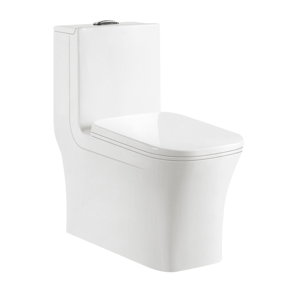 Bathroom ceramic one piece WC toilet 9069