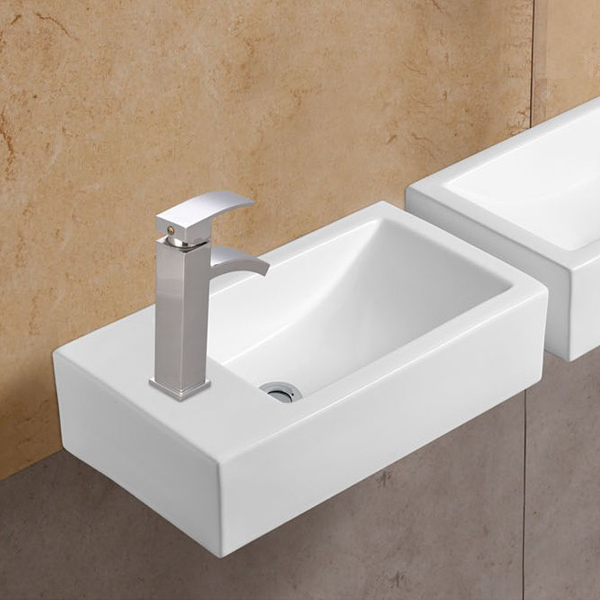 Online hot sale small size ceramic wash sink WB-11