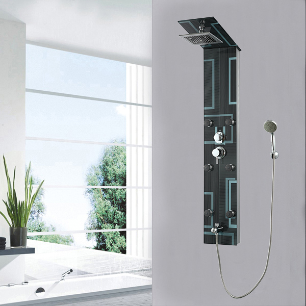 Safety glass shower panel SP-G05