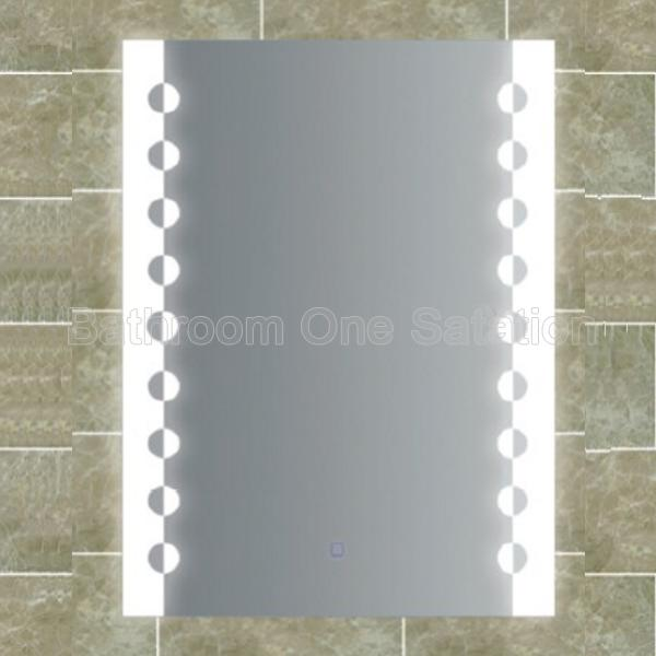 Rectangle shape bathroom mirror with LED 5110