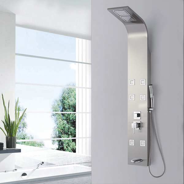 Luxury bathroom massage shower panel SP-S07