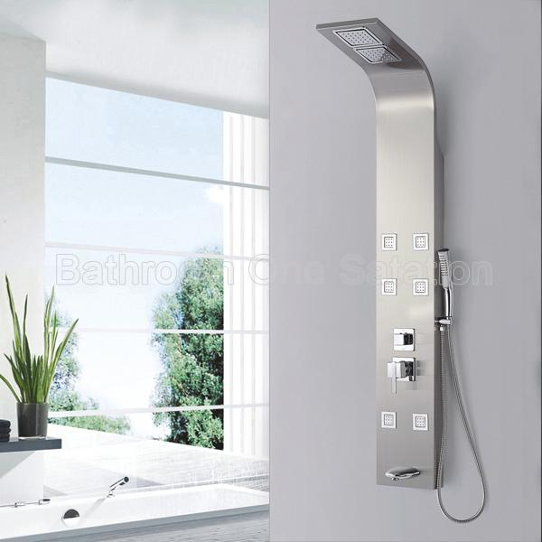 Luxury bathroom massage shower panel SP-S07