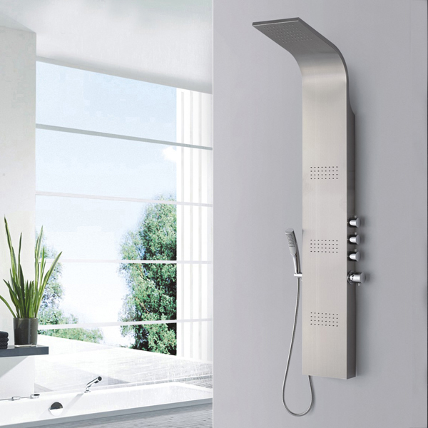 Stainless steel bathroom shower panel SP-S09