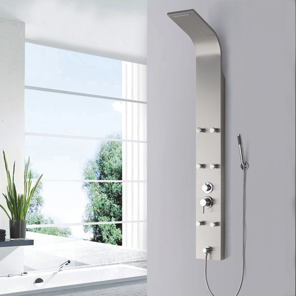 Europe popular stainless shower panel SP-S12