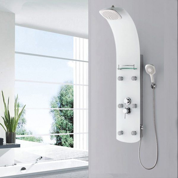 Glass shower room panel SP-G13