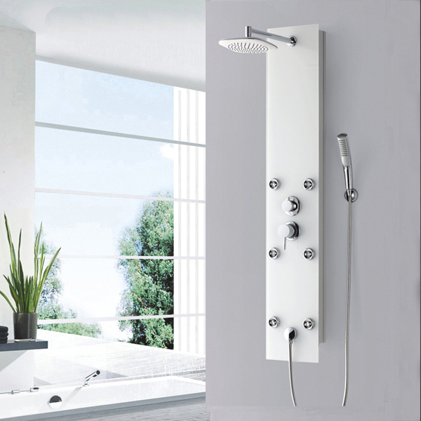 Tempered glass shower panel SP-G37