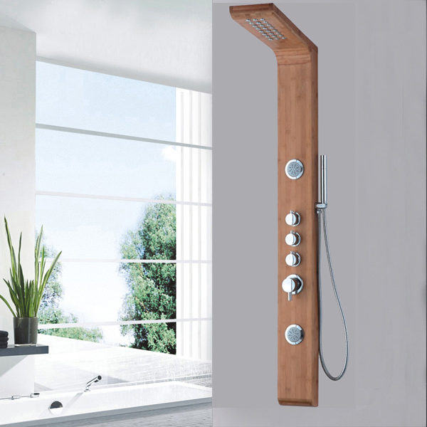Wood material shower panel SP-B04