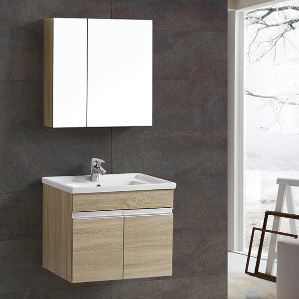 Wood melamine bathroom cabinet MF-1806