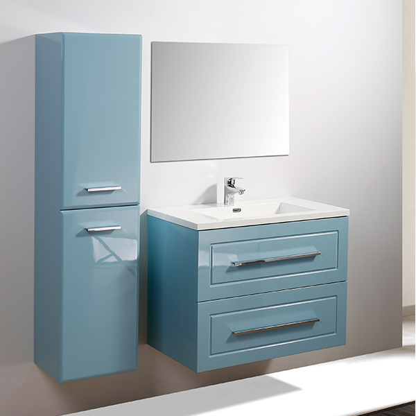 Blue color bathroom cabinet MF-1811