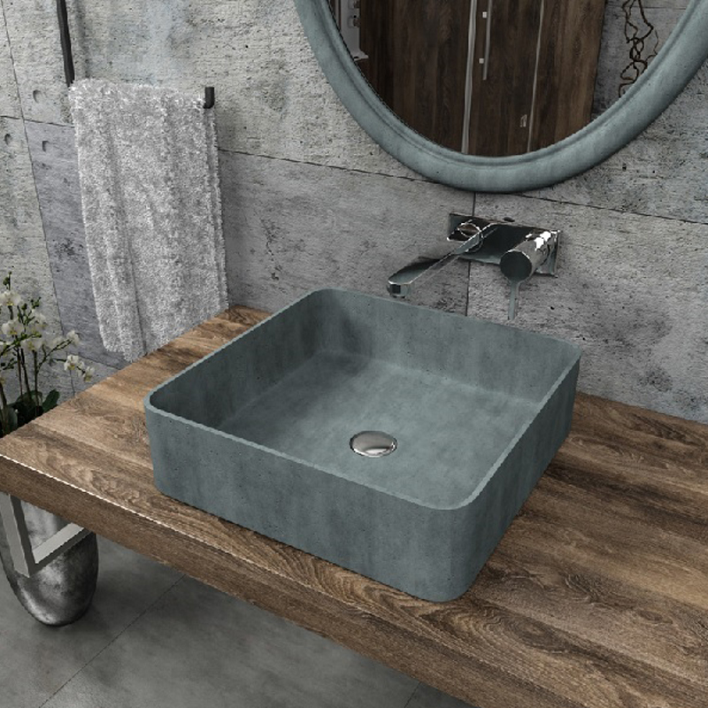 Square outdoor wash sink CB-09