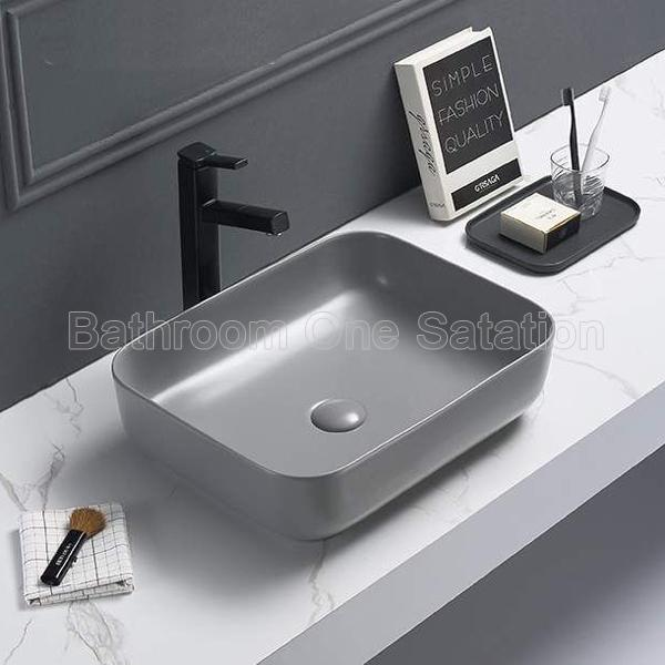 Cement color wash basin 8251