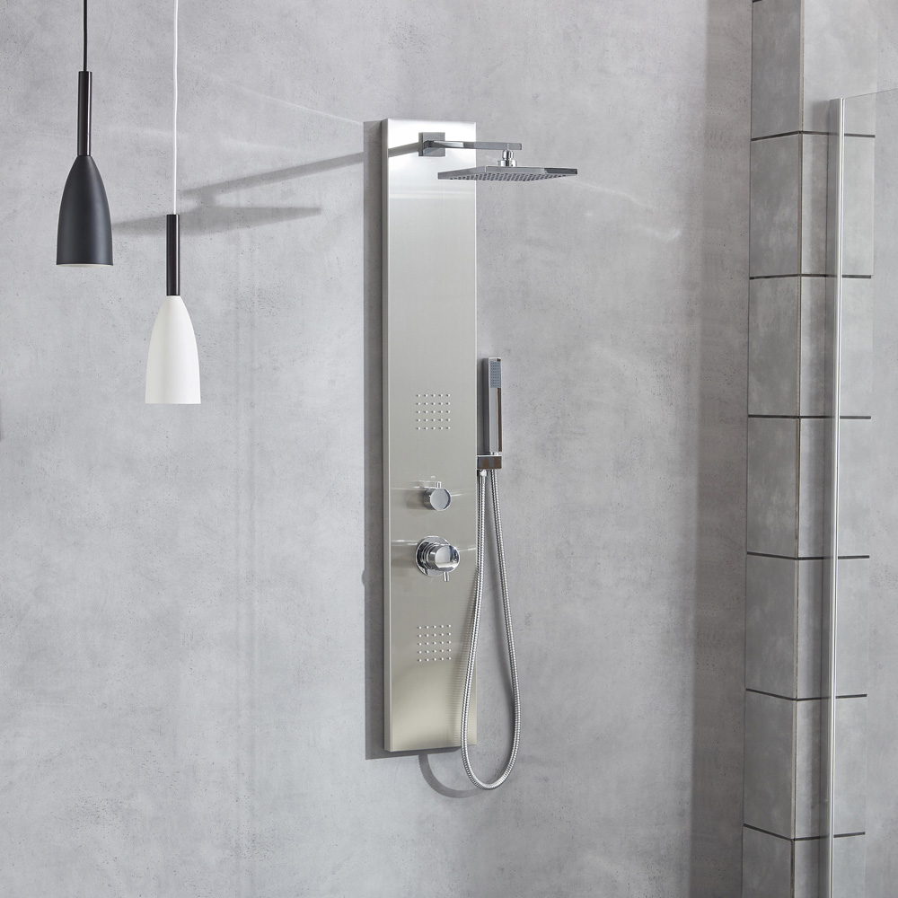 Brushed 304 stainless steel shower column SP-S201