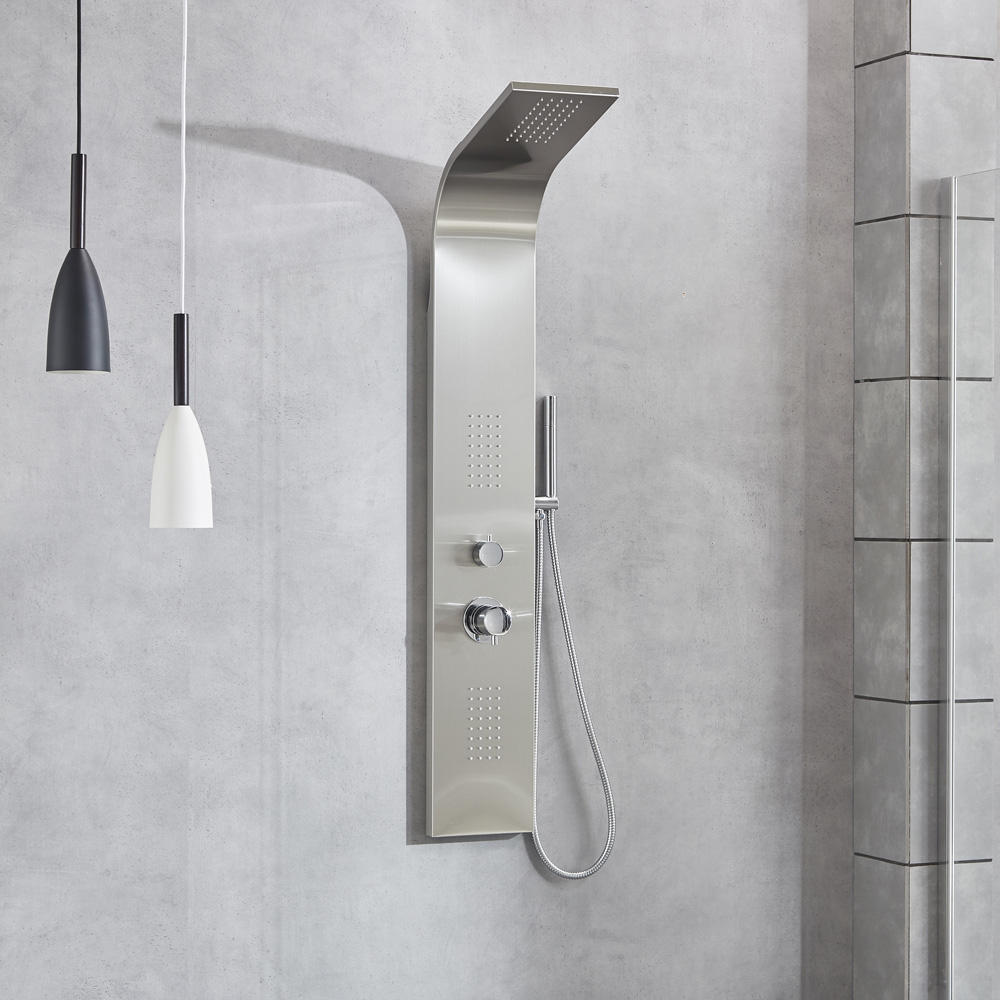 Stainless steel shower panel SP-S202